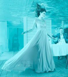 Behind the Scenes: Photographer Composites Incredible Underwater Restaurant Shoot Underwater Restaurant, Photo Series, Behind The Scenes, Restaurants, Composition, Commercial, Challenge, The Incredibles, Deep
