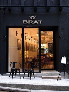 EAT @ BRAT //// gourmet hotdog eatery //// No 7 Elgin Street, Central or Shop OT264, Level 2, Ocean Terminal , Harbour City, Tsim Sha Tsui //// brat(dot)com(dot)hk