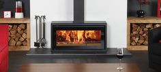 Free+Standing+Wood-Burning+Fireplace | Castworks | Fireplaces | Stoves | Wood Burning Cookers | Heaters