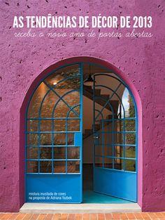 blue and purple #colors #decor #architecture