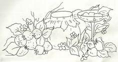 Artes e Desarranjos: Riscos de frutas/verduras