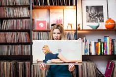 Sheila Burgel, a vinyl record collector from Brooklyn, New York, specializes in girl pop groups