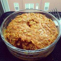 Pumkpin Cheesecake Baked Oatmeal