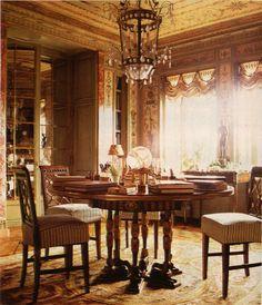 Dining room - Howard Slatkin's 5th Avenue New York apartment