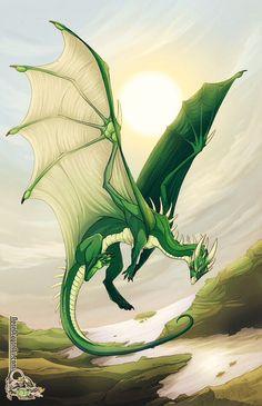 SciFi and Fantasy Art Omni´s Omnibahumut by Jessica ´Neon Dragon´ Peffer Magical Creatures, Fantasy Creatures, Fantasy Kunst, Fantasy Art, Manga Dragon, Dragon Dreaming, Dragons, Dragon Illustration, Beautiful Dragon