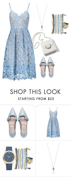 """""""Dress Under 100"""" by amanda-o-twomey ❤ liked on Polyvore featuring Miu Miu, Mixit and Marc Jacobs"""
