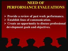 Performance appraisal Professional Development Goals, Performance Evaluation, Goals And Objectives, Opportunity, Communication, Communication Illustrations