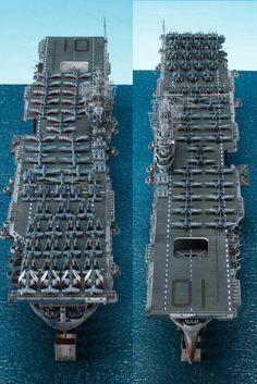 CV-10 YORKTOWN, built by master modeler Kim hyun-soo, south korea
