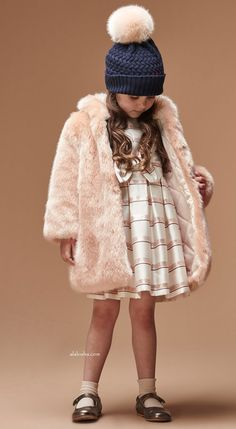 ALALOSHA: VOGUE ENFANTS: New Season FW'17: Elegant looks from the Hucklebones…