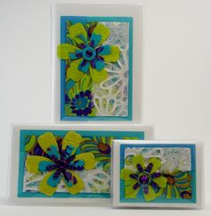Aqua Lime Flower Gift Set $32 Great colors and what a fun design. The many layered papers with the cut out flowers creates a whimsy feel ready for spring. Includes address phone book, checkbook/debit receipt holder, and credit card wallet photo case. #aqualime  #flower #giftset #giftideas #checkbookcover #jadesmenagerie