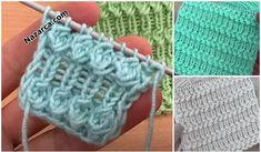 14 MODELLİ HAVALI ETOL ŞALI YAPILIŞ DETAYLARI   Nazarca.com Modern Crochet Patterns, Baby Knitting Patterns, Hand Knitting, Crochet Shawl, Crochet Baby, Knitted Baby Clothes, Hand Embroidery, Diy And Crafts, Blanket
