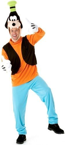 This well known character comes to you from the Mickey Mouse Universe! Bring the magic of Disney to your next party and don this great Disney Goofy costume. Halloween Party Kostüm, Scary Halloween Costumes, Disney Halloween, Halloween Ideas, Halloween 2016, Halloween Outfits, Walt Disney, Goofy Disney, Disney Trips