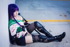 Saeko from Highschool of the Dead Cosplay