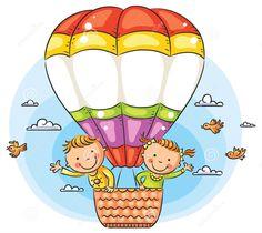Hot Air Balloon #dreamstime