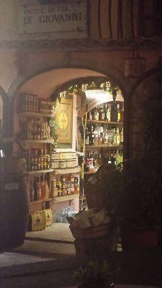 Shopping Sicilian style, Taormina July, 2014 (Carey Normand image)