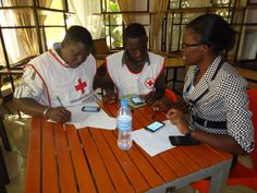 In #Tanzania #RedCross volunteers are learning how to use mobile phones to improve disaster response times #ODK