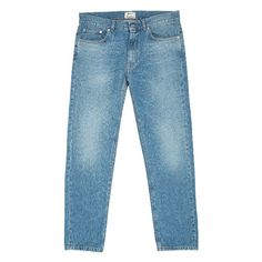 Acne Jeans ($95) ❤ liked on Polyvore featuring jeans, pants, acne studios jeans, acne studios, blue jeans, 5 pocket jeans y boyfriend jeans