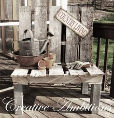 I was doing a search online the other day for examples on how to build wooden crates. I came across some crates that were made from wooden p. Pallet Crates, Pallet Chair, Wooden Pallet Furniture, Wooden Pallets, Diy Furniture, Pallet Benches, Pallet Tables, Outdoor Pallet, 1001 Pallets