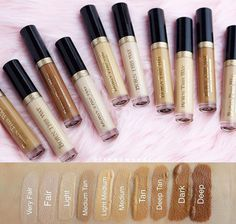Too Faced Born This Way Concealer Swatches. NOW Available at #tf