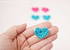 I've spent the last week hunting down the perfect mini crochet heart pattern for a new project. (hair clips) I tried multiple tutorials, but wasn't getting the results I was looking for… Most of the hearts were turning out too big and a few of them, I couldn't get to turn out quite right. After …