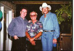 Keith Bilbrey, George Jones, Alan Jackson [Courtesy Keith Bilbrey]