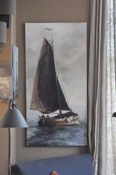 Schilderij Huizer botter - overig