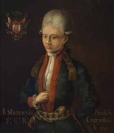 national cavalry captain Joseph Służewski portrait of the 2nd half of the 18th century