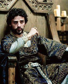 Lion in Winter Design - Oscar Isaac as Prince John in Robin Hood (2010)