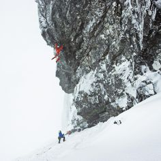 Anubis - Dani Arnold is the first one who repeats the perhaps most difficult mixed route in the British Isles.