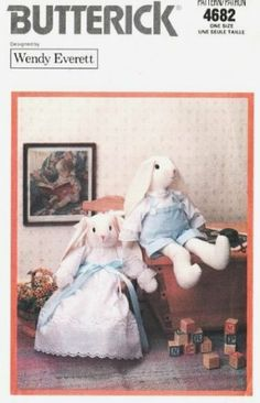 1000 Images About Easter Bunnies On Pinterest Sewing