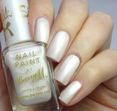 Brit Nails: Barry M Pearl I got this colour and it's realy nice - I got the truffle one aswell