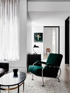 stylish living room | flack studio