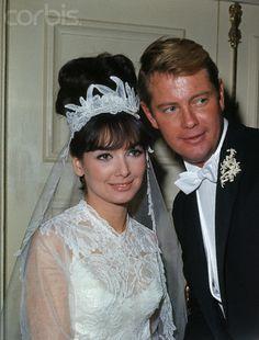 Suzanne Pleshette - Troy Donahue wedding.