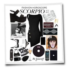 """""""Crossfire"""" by maddie-dancer ❤ liked on Polyvore featuring O-Mighty, Tattify, Yves Saint Laurent, Stella & Dot, Anthony Vaccarello, Charlotte Olympia, Hershey's, Agent Provocateur, L'Agent By Agent Provocateur and Etiquette"""