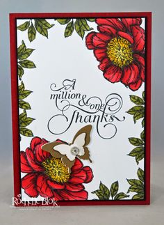 The Stamping Blok: Bloom with Hope A Million and One Thanks