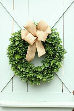Boxwood Wreath Burla