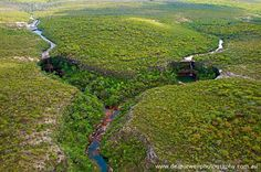 Dean Jewell Photography | A remote part of Northern Cape York, QLD    Double waterfalls!