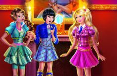 Resultado de imagem para materiais escolares da barbie escola de princesas
