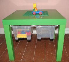 IKEA Lack side table $9.99 => Lego table