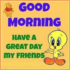 Pooh good morning