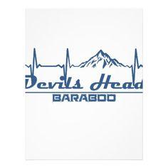 #Devils Head Resort  -  Baraboo - Wisconsin Letterhead - #office #gifts #giftideas #business