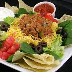 Quick Taco Salad Allrecipes.com