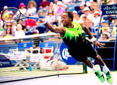 Gael Monfils Toronto 2014 Atp Tennis, Play Tennis, Gael Monfils, Sabine Lisicki, Wimbledon Tennis, Caroline Wozniacki, Ana Ivanovic, Rafael Nadal, Serena Williams