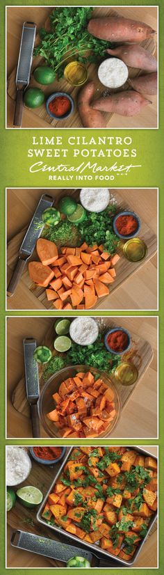 We have been making these Lime Cilantro Sweet Potatoes for years. Why? Because sweet potatoes are delicious and this recipe is easy to prepare and has bright, bold flavors.