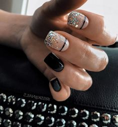 New Nail Art Ideas For Your Inspiration New Nail Art Ideas For Your Inspiration,Nails Related schicke weiße Acrylnägel Kopieren - of The Most Fabulous Sparkle Wedding Nail Art Designs Perfect Nails, Gorgeous Nails, Short Nails, Long Nails, Cute Nails, Pretty Nails, Hair And Nails, My Nails, Dipped Nails