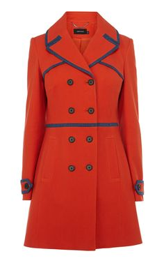 Discover women's clothing for work, weekend or special occasions. Shop Karen Millen's new collection of dresses, coats and tailoring for women now. Coats For Women, Clothes For Women, Double Breasted Coat, Karen Millen, Guys And Girls, Fashion Outfits, Womens Fashion, London Fashion, Cotton