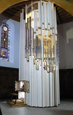 Case design by Jacques Nonnet & Martin Bacot; Orgues-Giroud; l'Eglise de Bourg d'Oisans, France; III/29, 2014