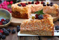 Mrkvový cheesecake - Fitness recepty - Zdravé recepty, vaření, pečení, online kuchařka Kefir, French Toast, Cheesecake, Health Fitness, Pie, Breakfast, Dinners, Food, Torte