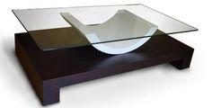Mesa de centro / de interior / moderna / de cristal ALDEBARAN GONZALO DE SALAS