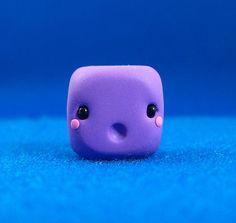 Surprised Kawaii Cube by Jenn and Tony Bot, via Flickr